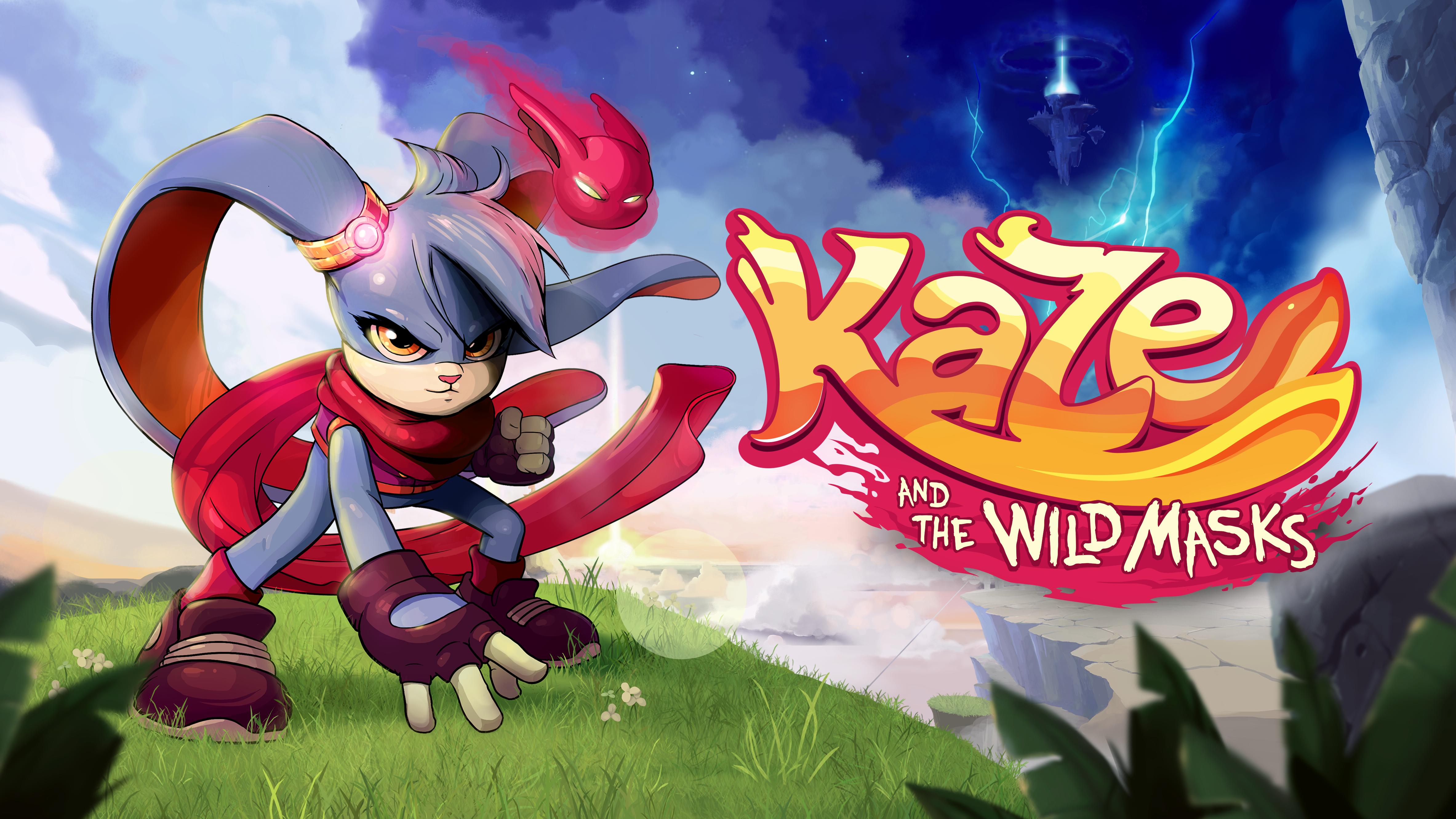 Kaze and the Wild Masks hops to Nintendo Switch™, PlayStation®4 and Xbox One