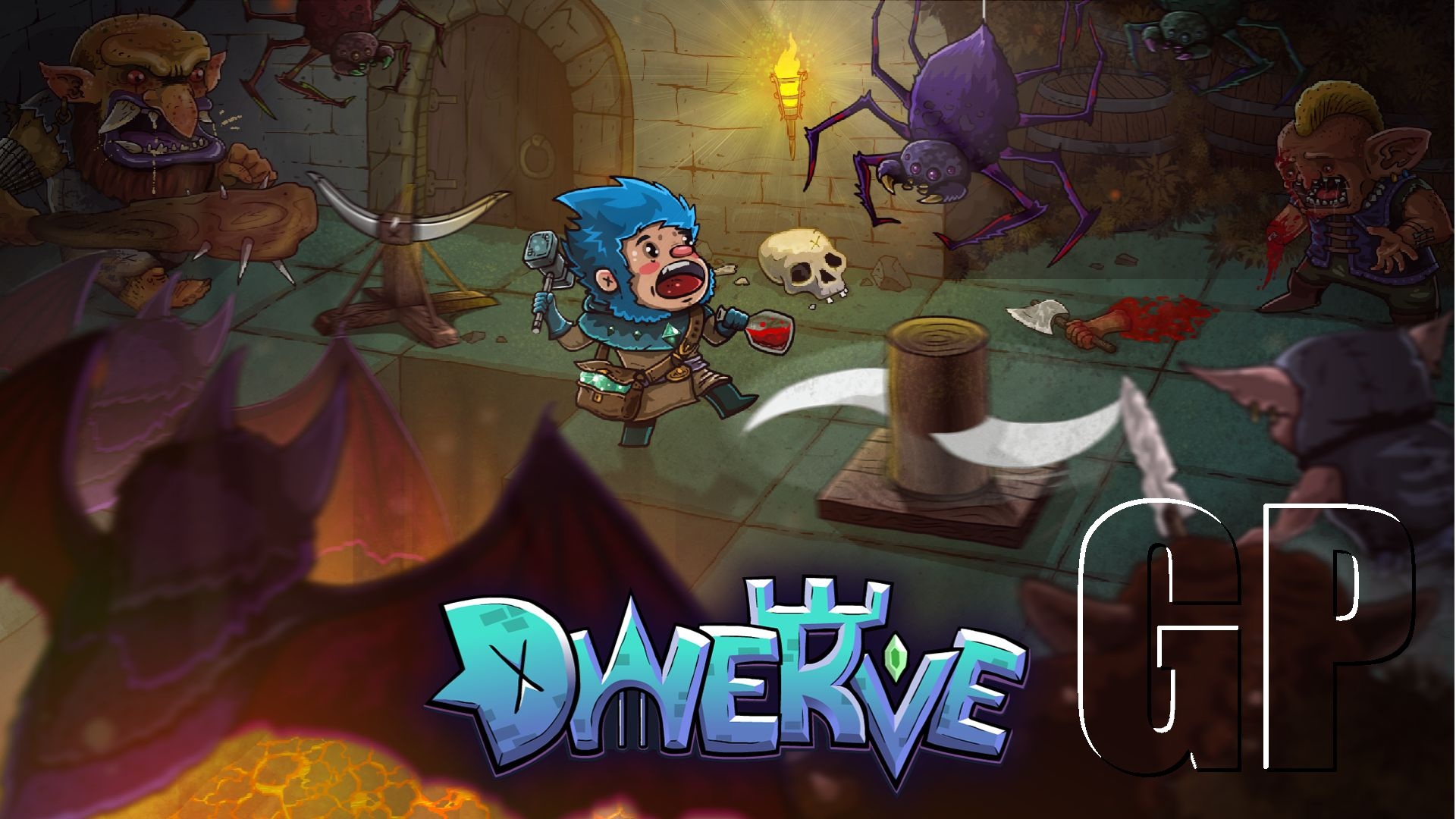 Dwerve, New Tower Defense Dungeon Crawler RPG, Opens Gates to Alpha Demo During Steam Games Festival